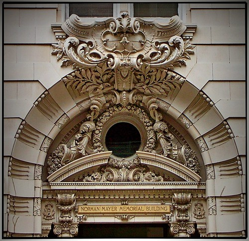 New Orleans Louisiana - Norman Mayer Memorial Building - CBD - Architecture