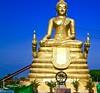 Thai Worship (*SIN CITY*) Tags: temple asia worship buddha buddah earthasia thailand totallythailand statue people pray gold yellow phuket thebigbuddha religion wat god church