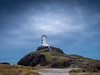 The Tower at Llanddwyn , Anglesey. (hemlockwood1) Tags: peninsula mist sea anglesey atmosphere newborough forest sky wales moody tower beacon island coast colin allen dark