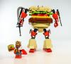 "BK-900 ""Burgermeister Rex"" (Baron Julius von Brunk) Tags: lego mech mechwarrior gundam mecha burgerking legomoc"