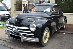 Peugeot 203 (Monde-Auto Passion Photos) Tags: voiture vehicule auto automobile peugeot 203 berline noir black rare rareté ancienne classique france courtenay