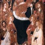 IMG_0012 Master of the Madonna Lazzaroni. Florence around 1370-1400 Virgin and Child, Saints John the Baptist, Barnabas, Antoine Abbé, Barthélémy, Jacques, three unidentified saints. Tours Museum of Fine Arts. thumbnail