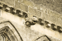 Alien Gargoyle at Paisley Abbey