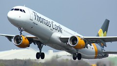 G-TCDL (AnDyMHoLdEn) Tags: thomascook a321 egcc airport manchester manchesterairport 23l