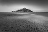 Tidal Curve, St Michael's Mount (Mick Blakey) Tags: nationaltrust stmichaelsmount beach black blackwhite calm clouds coast coastal coastline contrast cornish cornwall curves harbour highlights monochrome panoramic peaceful receding sand sea seascape seashore shadows shingle shore shoreline structure surreal tidal white