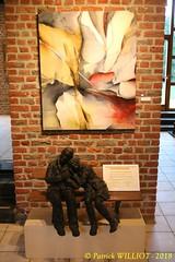 IMG_9421 (Patrick Williot) Tags: exposition vernissage ecuries sculpteur michal peintre genevieve nicolas