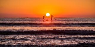 California Surfin' - San Elijo State Beach