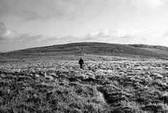 Llangynog to Pistyll Rhaeadr #3 (joshdgeorge7) Tags: walking pentax hp2 400 ilford film black white vintage grain wales welsh hills mountain mx smc