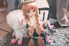 Hi! (~ Melody and the dolls ~) Tags: pullip doll custom obitsu alice du jardin wig rewigged