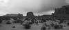 Monument Valley Navajo Tribal Park, Arizona - Utah, USA. (cbrozek21) Tags: monumentvalleynavajotribalpark monumentvalley navajotribalpark monochrome panorama blackandwhite landscape americansouthwest rocks geology
