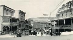 Broadway - Saranac Lake - Winter 1909 (Restored Adirondack Photographs) Tags: saranaclake adirondacks berkeleyhotel
