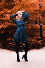 By Nikolay Bogdev (The Phoenix Girl) Tags: composition fashion dress girl woman portraiture fashionmodel model modelling pose posing uk london canarywharf europe canon photographer style shooting photoshoot femaleportrait unitedkingdom england greatbritain fashionphotography