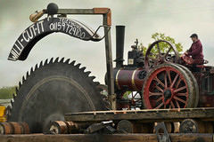 Willi cut (PentlandPirate of the North) Tags: willicut saw wood tractionengine outdoorshows ashleyhall ~flickrinnes flickrinnes