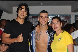 Renilce Nicodemos no Campeonato Brasileiro de Boxe Profissional