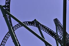 ups and downs (unisonik) Tags: helix liseberg göteborg rollercoaster bergochdalbana