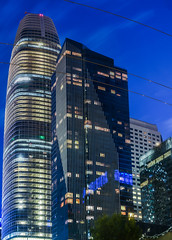 millennium salesforce (pbo31) Tags: bayarea california nikon d810 color spring may pbo31 boury city urban sanfrancisco skyline salesforce financialdistrictsouth architecture contemporary night dark panorama large stitched panoramic bluehour