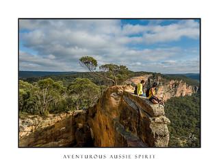 Australian adventurous spirit friends hanging out