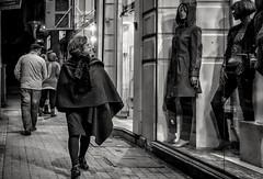 Fashion... (Alfy's) Tags: streetphotographybw streetphotography street streetpics streetzen bnw monochrome people candid sonya6000 cairo egypt