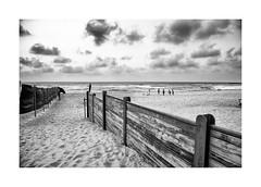 Beach (Jan Dobrovsky) Tags: beach landscape monochrome israel people sky blackandwhite nikond810 drama outdoor sea document