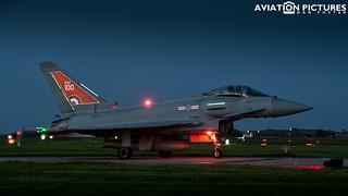 Eurofighter Typhoon FGR4 ZK318 - RAF 100 Centenary Special