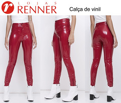 Vinyl pants from Lojas Renner (Vinyl Beauties) Tags: vinyl pvc plastic pants lojas renner fashion trend style beauty glamour calçadevinil calça vinil plástico moda lack hose plastik lackhose mode beleza schönheit lojasrenner