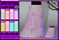 [TD] Sherbet Fluffy Kickers [PASTEL] UniSex (.☣.†ᴏxɪᴄÐᴏɪɪs.☣.) Tags: pastel kickers fluffyd fur rave furry kawaii cute shoes legwarmers leg warmers fluffy unrigged mesh resize unisex juniour kids female male partical toxic poofers toxicdolls product sl secondlife