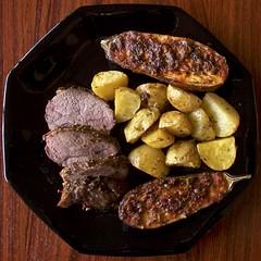 ...and After (Padmacara) Tags: food lamb eggplant potato chilli oliveoil dish roast g11 blackplate
