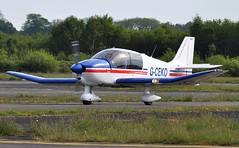 G-CEKO (goweravig) Tags: gceko visiting aircraft robin cadet dr400 swansea wales uk swanseaairport