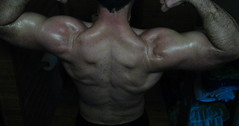 BIG BULGING BICEPS (FLEX ROGERS) Tags: thick pumped exercise weightlifter wellbuilt welldeveloped weights workout delts chest flexing flex bicep biceps pecs huge ripped bizep muscle bodybuilder traps muscular guns bodybuilding abs lats