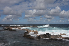 Le Quai de carangue (philippeguillot21) Tags: littoral rocher rock basalte carangue quai nuage cloud saintphilippe reunion france outremer indianocean africa pixelistes canon