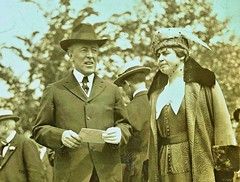Pres. and Mrs Wilson bringing their letter to be airmailed from Potomac park to NYC on May 15, 1918 NARA165-WW-556A-024 (SSAVE over 10 MILLION views THX) Tags: usps unitedstatespostalservice airmail 1918 airplane aircraft armyaircorps