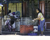 Showcase (Beegee49) Tags: street vendor filipina washing display case silay city philippines