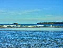 View across the lake VI (elphweb) Tags: hdr highdynamicrange nsw australia waves surf