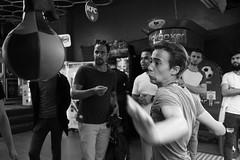 Boxing... (K.BERKİN) Tags: turkey tourism human people alpha street streetphoto streetphotograpy sony6300 handmade hand life blackwhite istanbul istiklal city centrum cafe bosphorus beyoglu boxing mirroless man