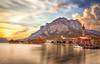 Lago di Lecco (Christian Papagni | Photography) Tags: lecco lombardia italia it long exposure lunga esposizione lago di sunset sky clouds canon eos 5d mark iv ef24105mm f4l is ii usm