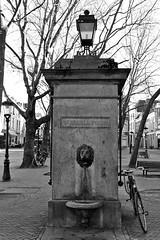Sint-Maria Pomp (just.Luc) Tags: pomp pompe pump sintmariapomp bn nb zw monochroom monotone monochrome bw utrecht holland nederland paysbas niederlande netherlands europa europe trees arbres bomen bäume