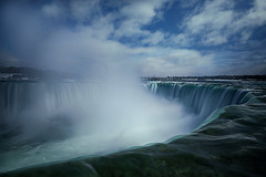 The Plume of Horseshoe Falls (lfeng1014) Tags: theplumeofhorseshoefalls niagarafalls horseshoefalls waterfalls mist misty cloud cloudformation landscape landmark canon5dmarkiii 2470mmf28lii leefilters 13seconds ontario canada winter lifeng
