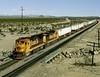 Essex CA Wednesday November 6th 1991 1000PST (Hoopy2342) Tags: railroad rail train railway atsf santafe atchisontopekasantafe mojavedesert essex california calif desert route66