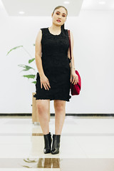 Adri (Martin van Castle) Tags: girl shoot shooting model blog fashion mode winter fall collection boots canon 50mm