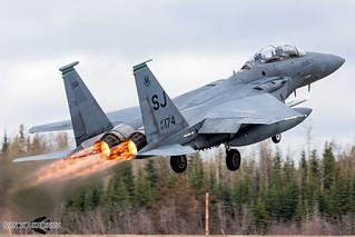 F-15E 87-0174 SJ 4th FW / 335th FS