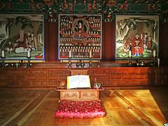 Ssanggyesa Temple 雙溪寺 (MelindaChan ^..^) Tags: 雙溪寺 ssanggyesa temple 寺 buddha worship religion chanmelmel mel melinda melindachan pray hadong skorea 河東 korean architecture travel spring
