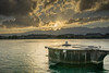 Fountain Geneve (matthias schroers) Tags: geneve lake genfer see fountain schweiz genf switzerland water sunbeams sonnenstrahlen wolken berge outdoor stimmung sonnenuntergang sony alpha 6000