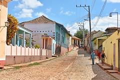 Cobbled Street Cuba (davidsharp159) Tags: cuba trinidad street streetscene streetphotography streetpeople streets road preserved unescosite path people