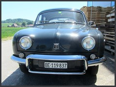 Renault Ondine (v8dub) Tags: renault ondine dauphine schweiz suisse switzerland bleienbach french pkw voiture car wagen worldcars auto automobile automotive old oldtimer oldcar klassik classic collector