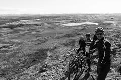 DSC04491 (Guðmundur Róbert) Tags: iceland moutain biking mtb bikes mountain hjól reiðhjól hjóla cycling mountains sky blue sony a7ii kit lens landscape intense cube 29er downhill uphill view island ísland black white