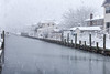 White Hour (Bob90901) Tags: white longisland newyork snowstorm spring morning canal snow water sky rpg90901 canon 6d canonef70200mmf28lisiiusm canon70200f28lll 2018 april 0829