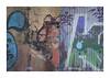 Mirada urbana I (juan jose aparicio) Tags: color urban street graffiti ladrillo wall brick door puerta muro desconchado decay abandonado
