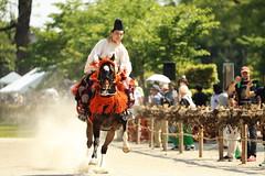 Running fast (Teruhide Tomori) Tags: 上賀茂神社 京都 賀茂競馬 伝統行事 年中行事 葵祭 洛北 日本 kyoto rakuhoku japan japon tradition horseracing festival event kamigamoshrine kamokeima