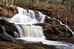 Garwin Falls (MRD Images) Tags: garwinfalls wilton nh newengland newhampshire spring may slowshutter longexposure runoff canon eos water forest town usa 5d markiii beauty nature