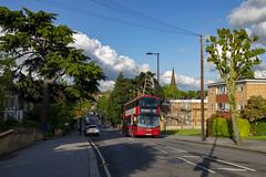 Arriva Lndon HV398 LC67AHZ South Croydon (TfLbuses) Tags: tfl public transport for london red double decker hybrid buses volvo b5lh wrightbus gemini arriva